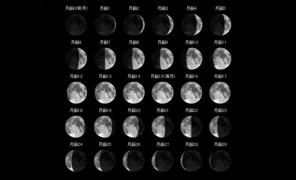 月齢の説明